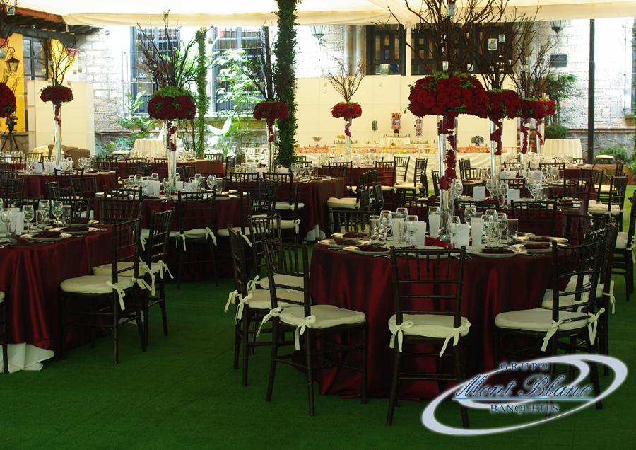Salones para bodas grupo mont blanc for Salones para casamientos
