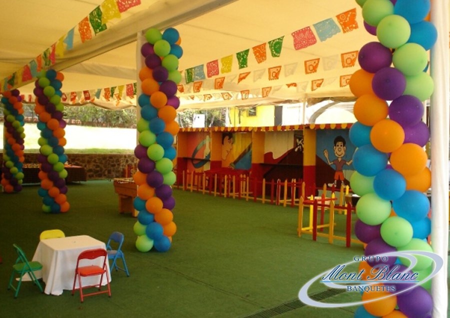 Decoracion tipo kermesse for Decoracion kermes mexicana