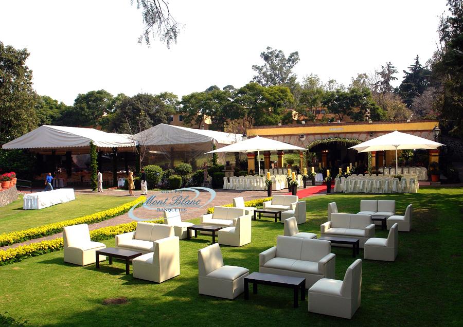 Jardines para bodas en el lienzo charro del pedregal Jardines pequenos para eventos df